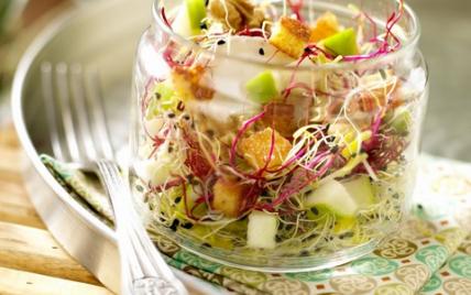 Ma salade Bio sucrée-salée - Photo par Ker Cadélac