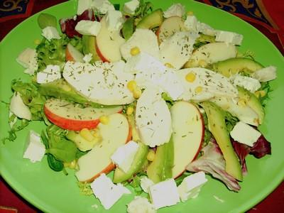 Salade cheese and apple - Photo par cojoca