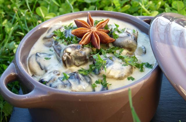 Cassolette d'escargots à l'anis étoilé - Photo par AurelieJeromeLucas