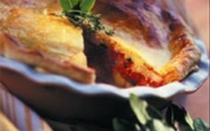 Tourte parmentière à la tomate - Photo par CNIPT