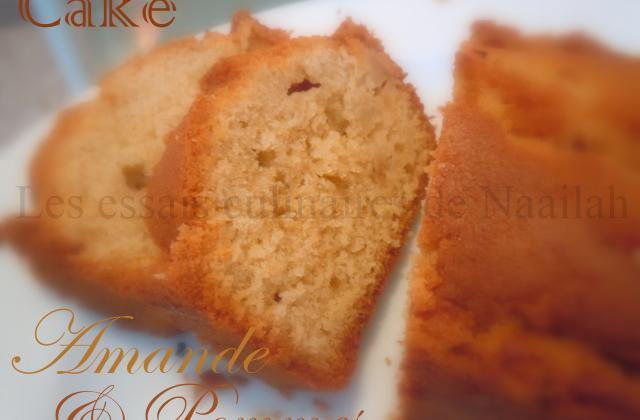 Cake à l'amande et aux pommes - Photo par naaila