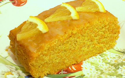 Cake aux carottes et au gingembre - Photo par La soupe à la citrouille