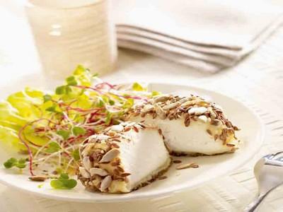 Salade de crottin de chèvre aux graines - Photo par Rians