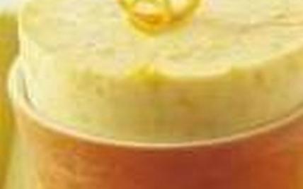 Petit soufflé glacé au citron - Photo par les recettes legères de Chrissy