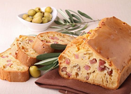Cake au jambon et au fromage Saint Albray - Photo par 750g