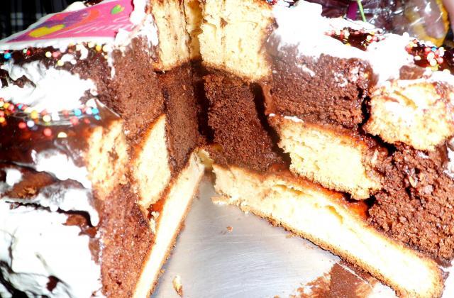 Gâteau damier - Photo par la cuisine de loli