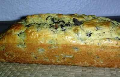 Cake aux gésiers confits de canard et champignons - Photo par cragon