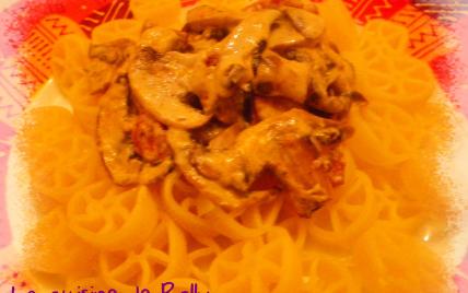 Pasta chorizo, mascarpone, champignons - Photo par rolly