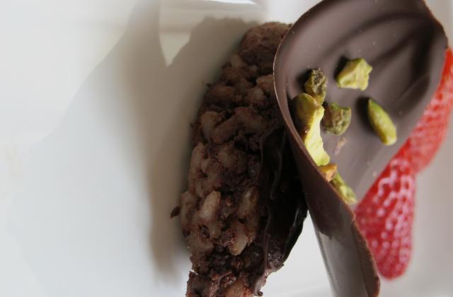 Sushis tout chocolat (magnum version sushi) - Photo par delphine - laboiteapralines