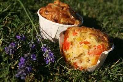 Muffins aux légumes d'été - Photo par nanie4i