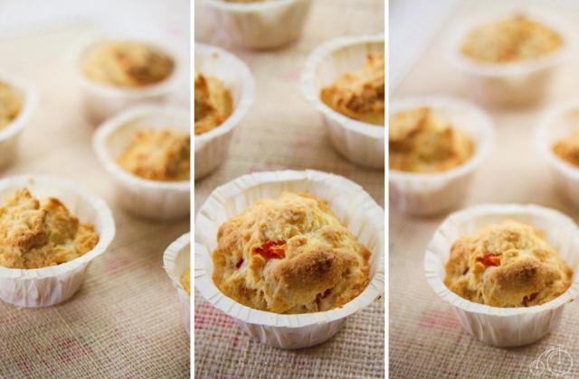 Cupcakes gruyère-tomate - Photo par jessicOqz