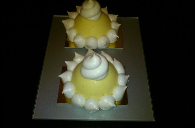 Tarte au citron sur sablé - Photo par lionelQq