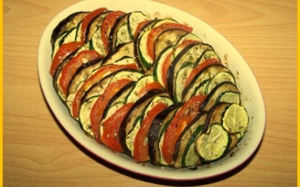 Tian de légumes facile - Photo par biscottine