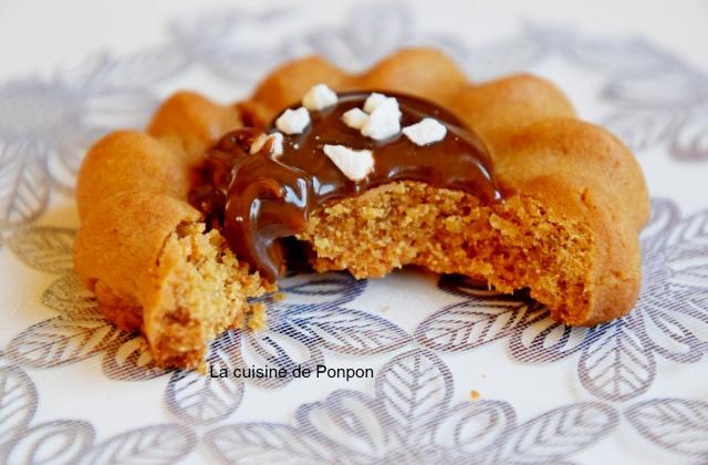 Biscuit aux épices et confiture de lait - Photo par Ponpon