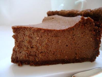 Cheesecake au chocolat et aux amandes - Photo par fimere2