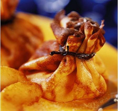 Aumônière de pomme flambée au rhum Negrita - Photo par Negrita