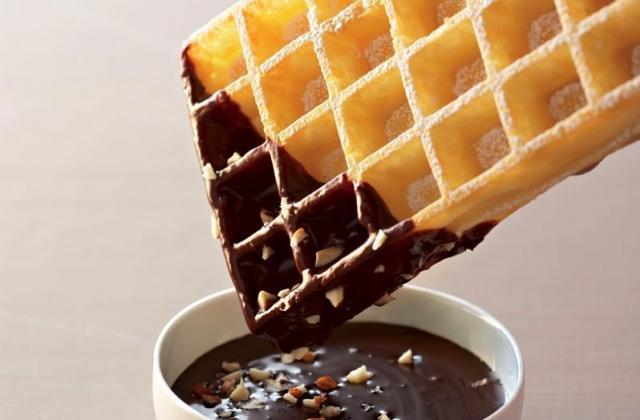 Gaufre chocolat noisettes - Photo par Cedus Le sucre