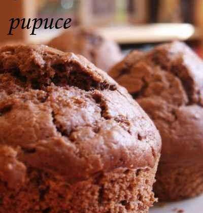 Muffins chocolat & pralin sans beurre très faciles - Photo par myriamn5