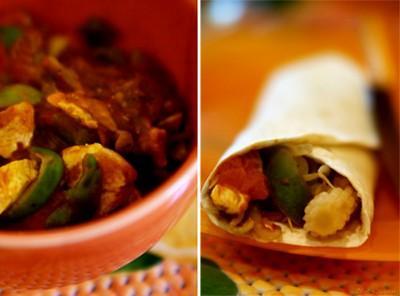 Fajitas à l'indienne - inspiration thaïe - Photo par charliG