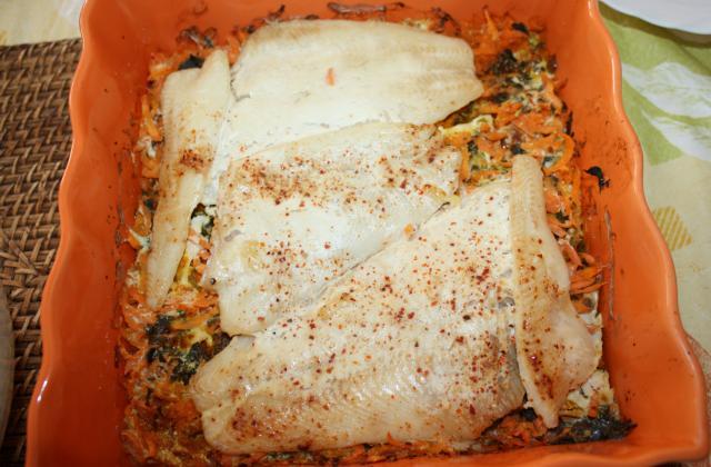 Filets de fletan aux carottes - Photo par recettL