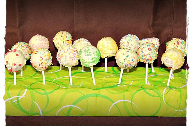 Cake pops philadelphia - Photo par Les douceurs d'Ema et Tom