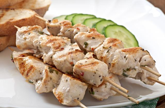 Brochettes de poulet épicées - Photo par justineDi