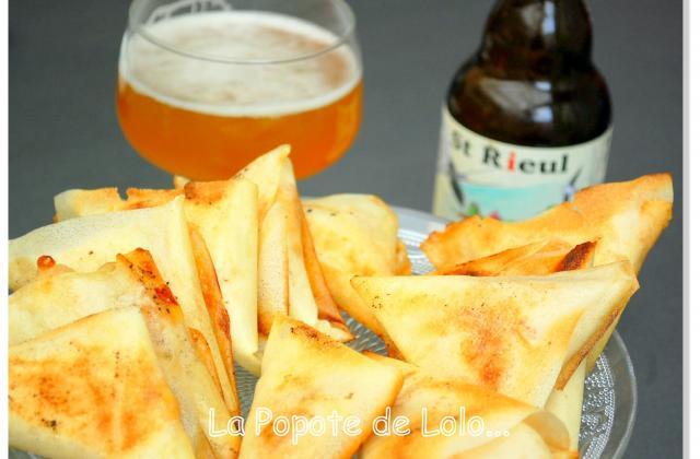 Samoussas au Maroilles et à la bière de printemps - Photo par lapopotedelolo