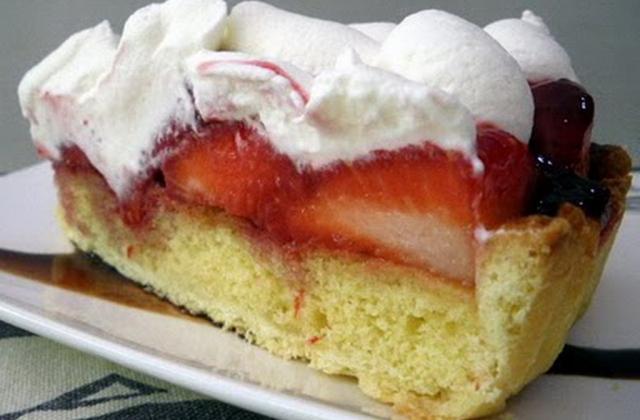 Ma tarte aux  fraises - Photo par banzety