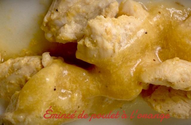 Emincé de poulet à l'orange - Photo par cuisine loulou