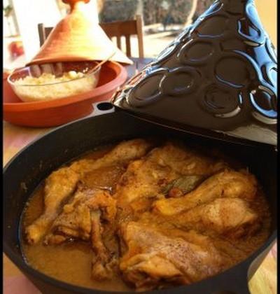 Tajine de poulet aux oignons confits - Photo par mimilafee