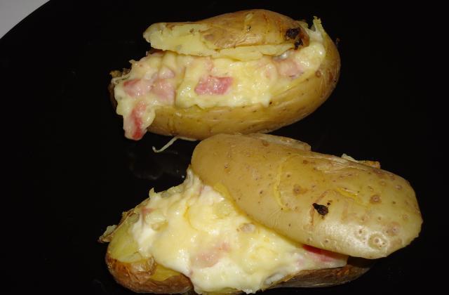 Pommes de terre au four aux lardons - Photo par lecomte