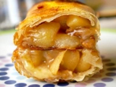 Nems aux pommes et au reblochon - Photo par gleche