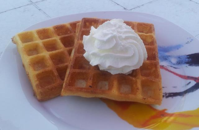 Gaufre sans gluten - Photo par elkfat