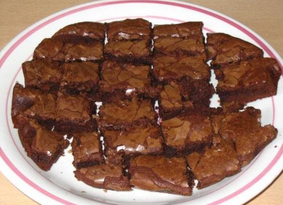 Brownies au chocolat économiques - Photo par justmou