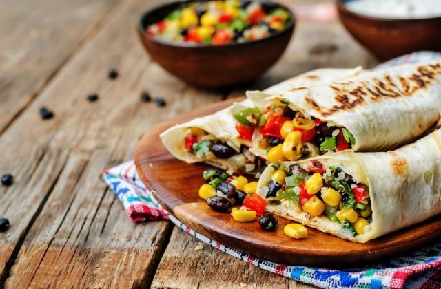 Burritos végétarien - Photo par 750g