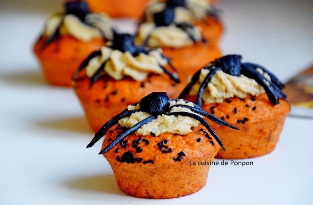 Cupcake aux tomates et chantilly de noix de cajou - Photo par Ponpon