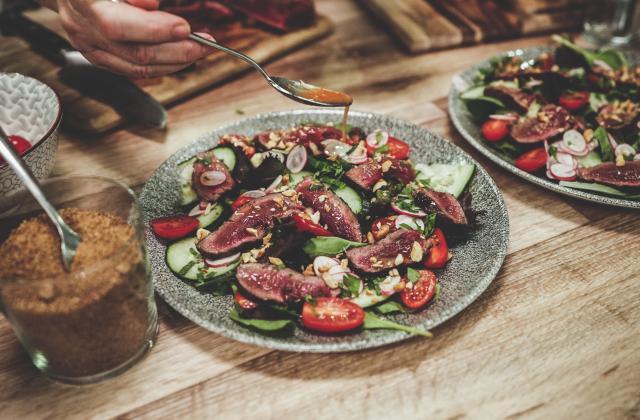Salade facile de bœuf à la thaïlandaise - Photo par Yoann Gloaguen