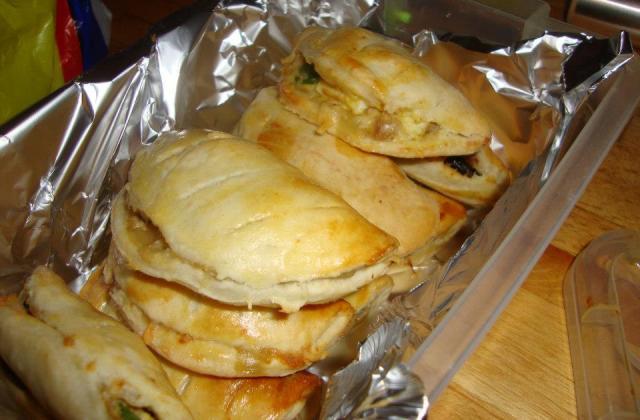 Chaussons aux poivrons, feuilletés - Photo par la cuisine de doudou