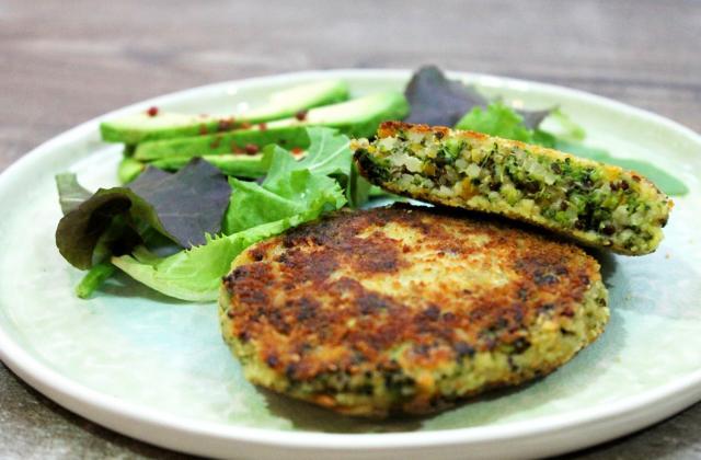 8 galettes végétales à glisser dans son burger - Photo par Tipiak