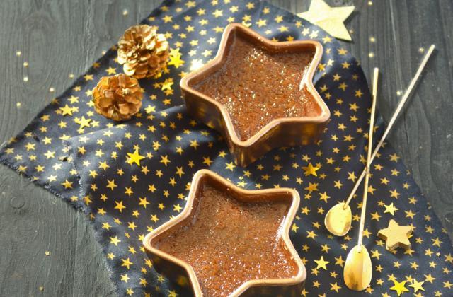 Crème brûlée au chocolat, tofu et soja - Photo par Angélique Roussel pour Soy