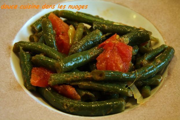 Haricots mangetout aux anchois - Photo par brigitXg