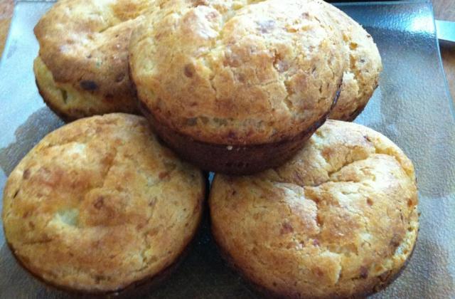 Muffins aux poireaux - Photo par passiongourmande