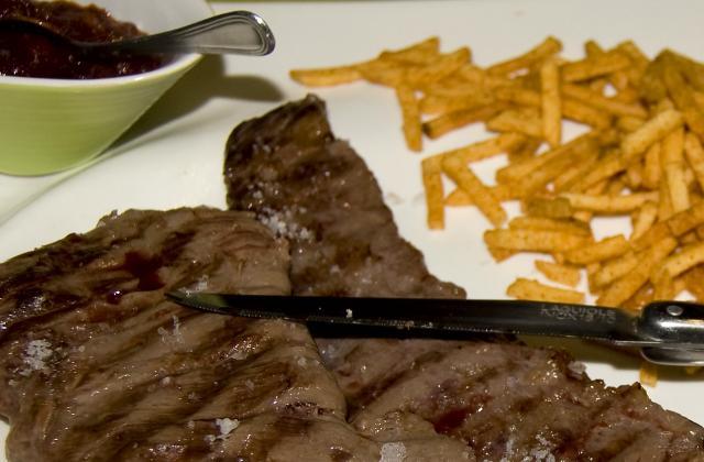 Onglet sauce steak house - Photo par malikele