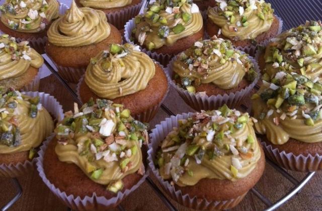 Cupcakes à la pistache - Photo par Titoune1990