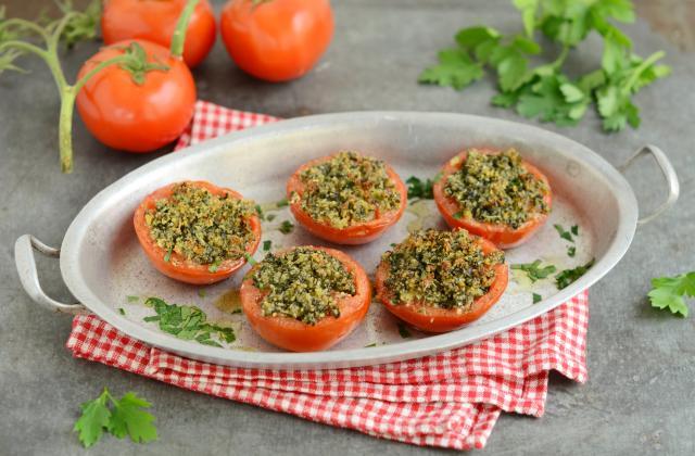 Tomates garnies à la Provençale - Photo par Nadia Paprikas