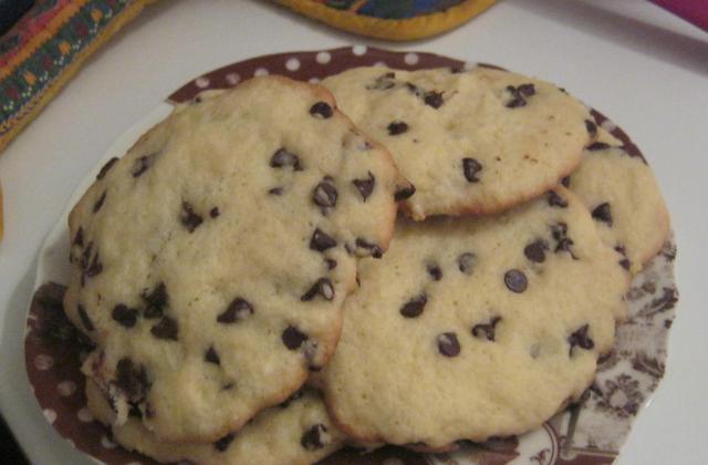 Cookies aux pépites de chocolat, divin plaisir - Photo par cricrinana