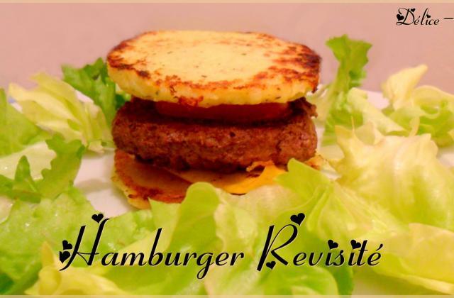 L'hamburger revisité - Photo par MamaDélice