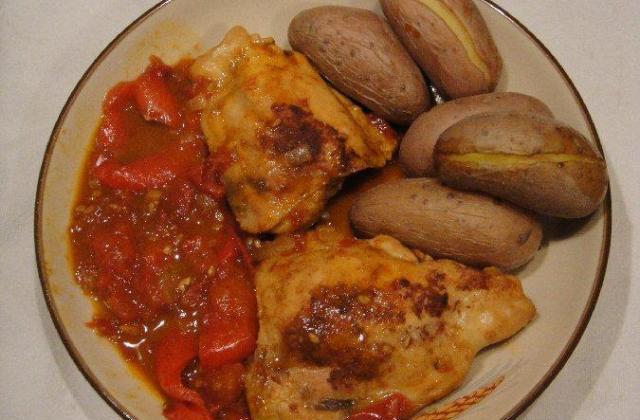 Poulet au paprika maison - Photo par supala