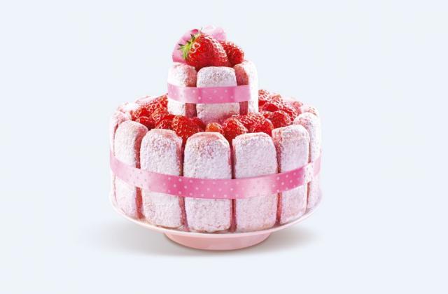 5 desserts tout roses pour gâter sa maman - Photo par Fossier
