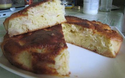Gâteau express aux pommes et éclats de noix - Photo par diabli
